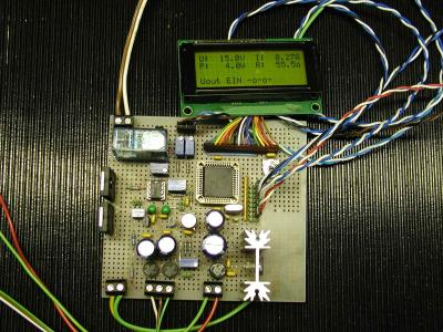 DC-Power-Panelmeter
